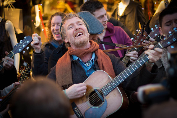 Glen Hansard, Grafton St. 2012